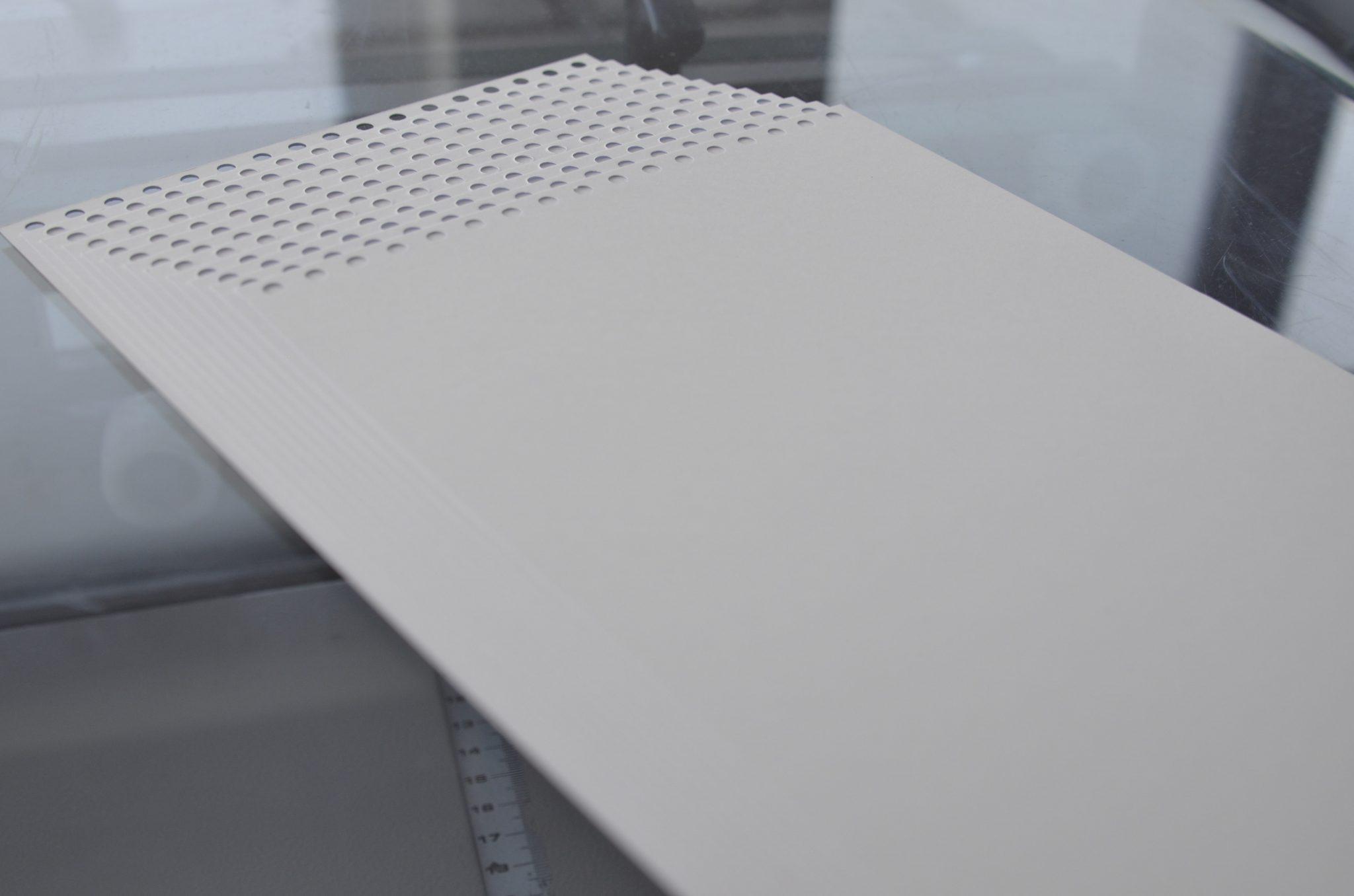 Einzelblatt-Stanzen-Endprodukt