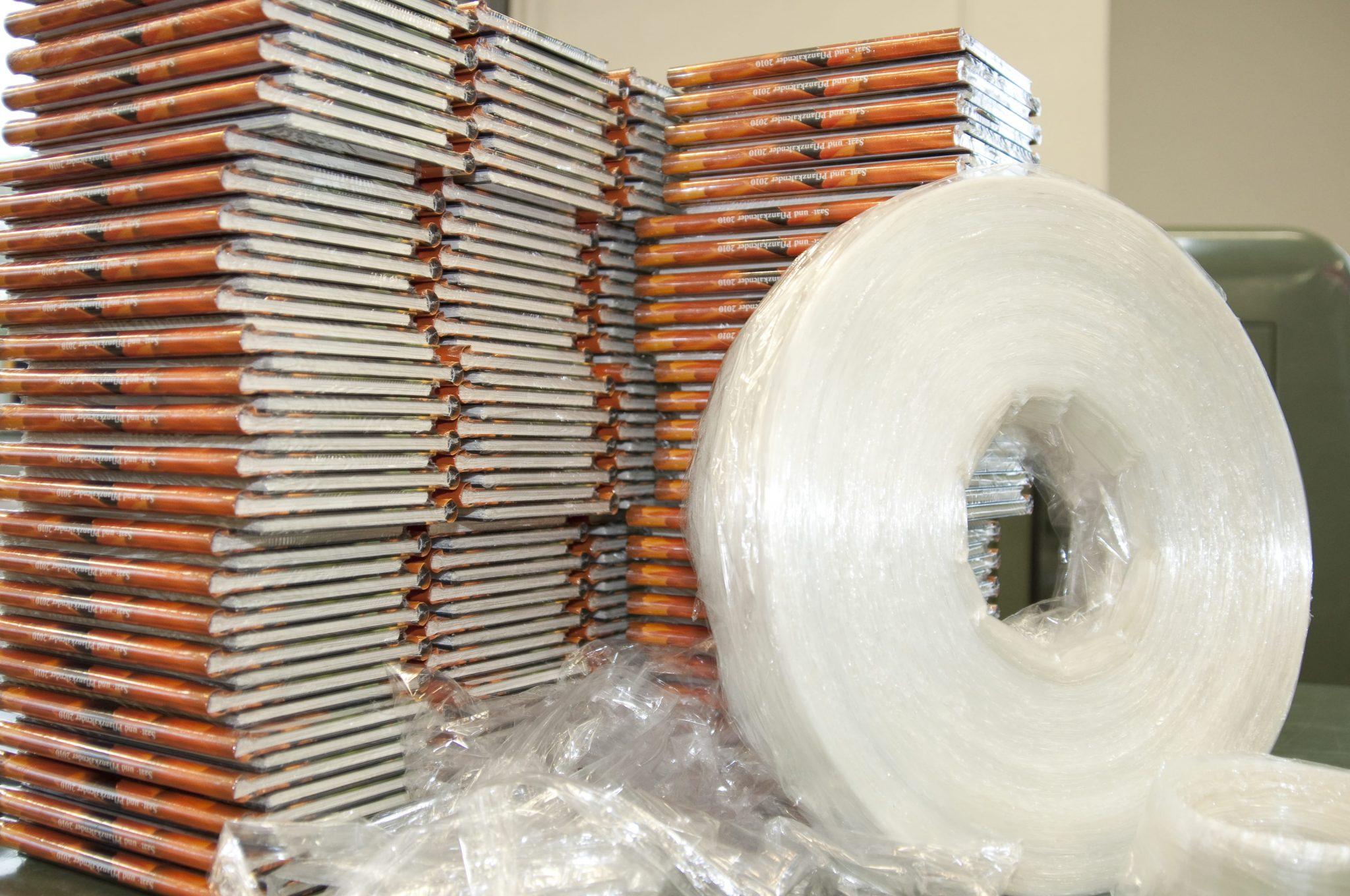 Endprodukt-geschrumpfter-Bücher